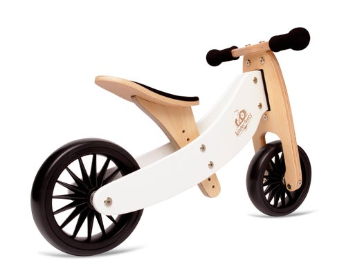 Image of 2-in-1 Tiny Tot PLUS Tricycle & Balance Bike White