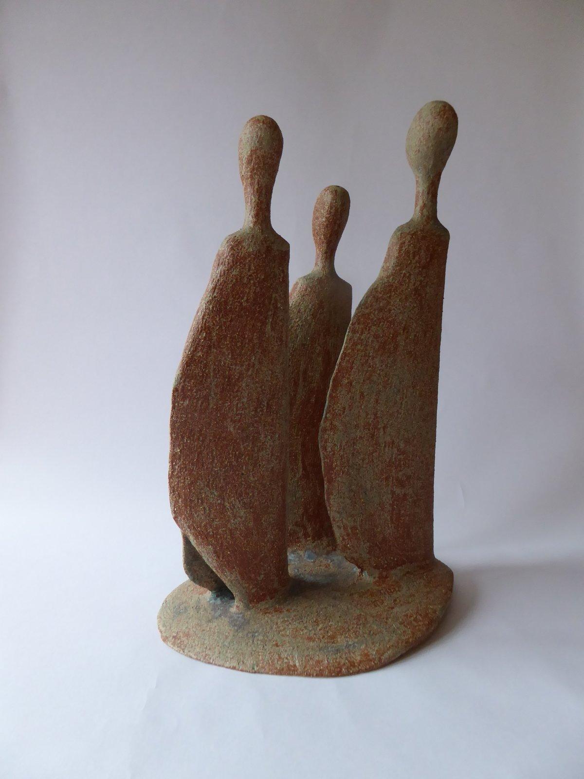 Image of Watchers.      Triple Figure