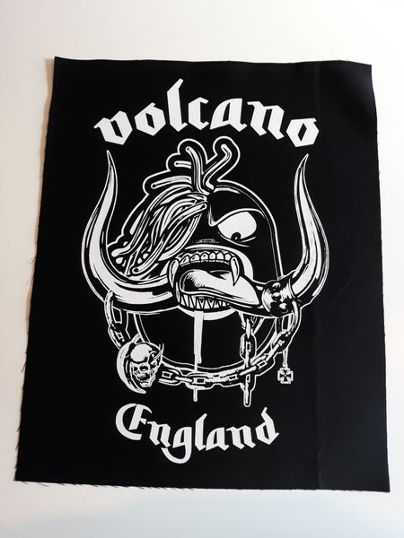 Image of VOLCANO ENGLAND - BACK PATCH