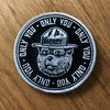"""Smokey the Bear """"Only You"""" Embroidered Patch"""