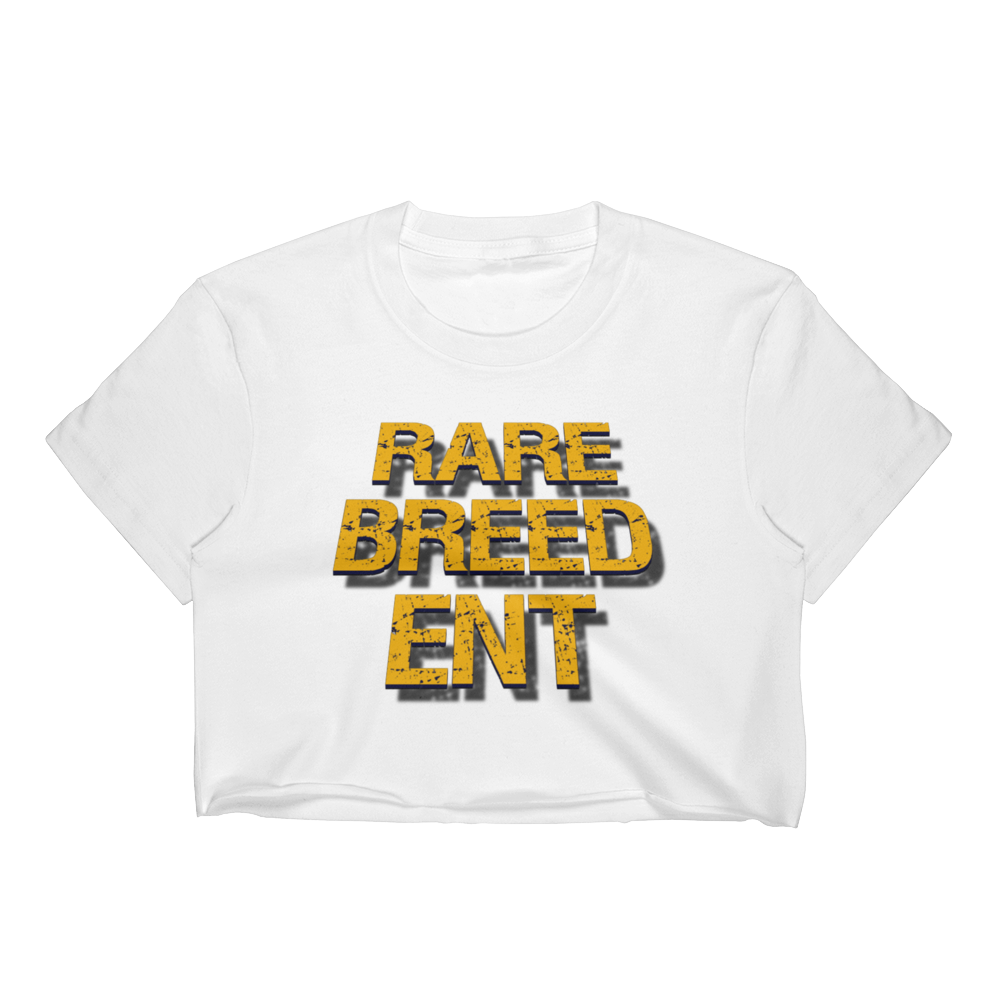 Image of RBE White Womens Crop-Top