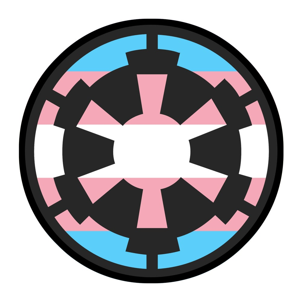 """Image of Imperial Cog Trans Pride 3.5"""" Patch"""