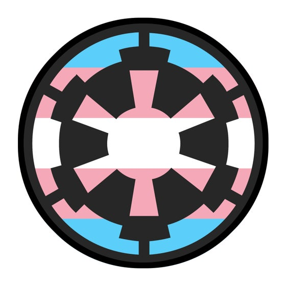 "Image of Imperial Cog Trans Pride 3.5"" Patch"
