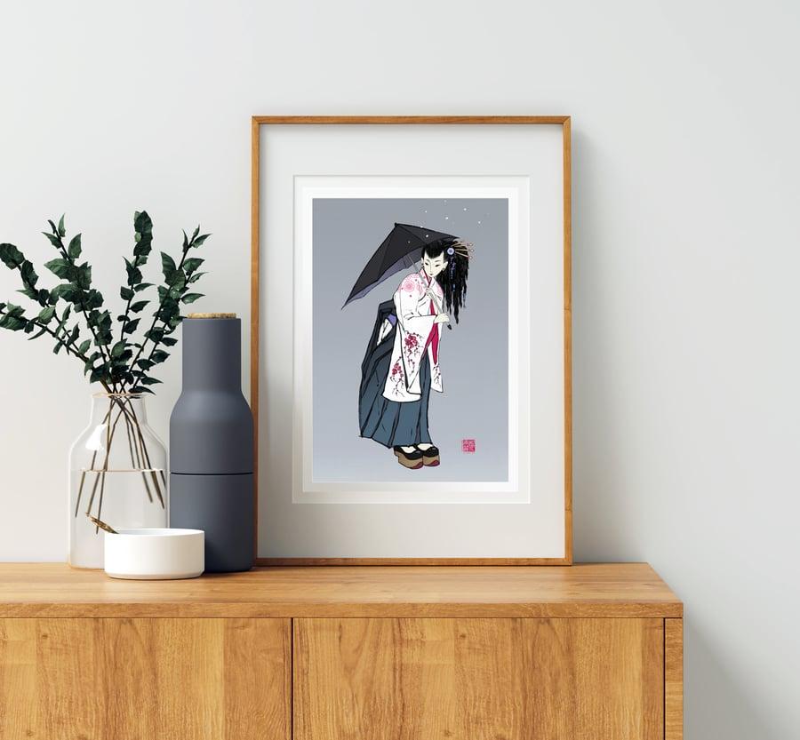 Image of FUSION series - Kimono
