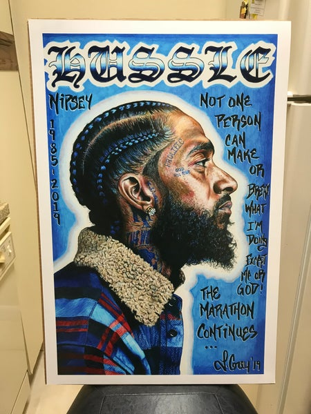 "Image of ""Respect the Hussle"" prints"