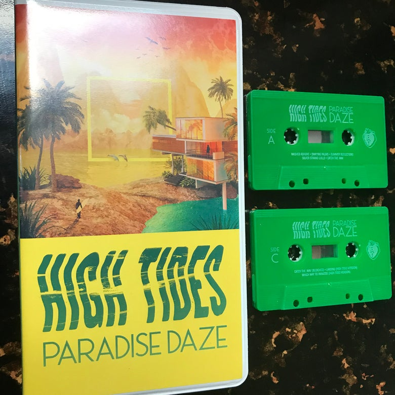 "Image of High Tides ""Paradise Daze"" 2xCassette"