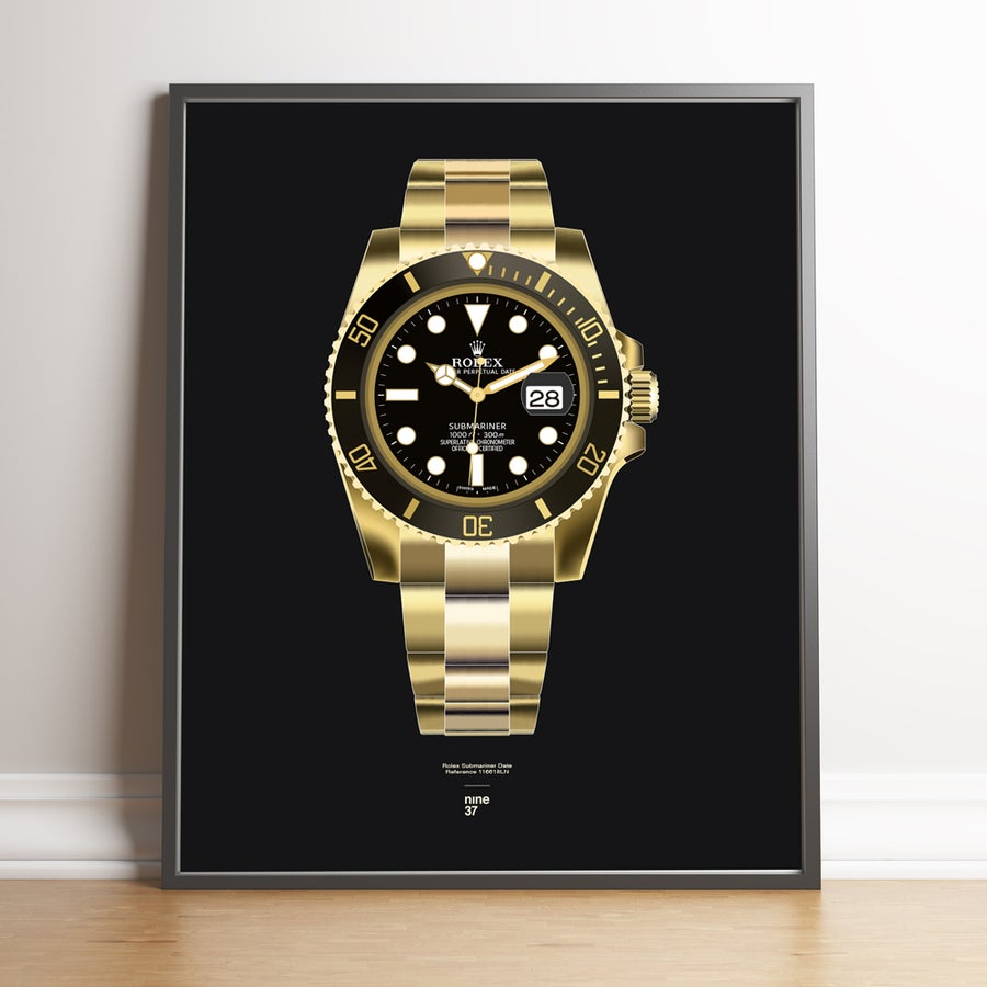 Image of Rolex Submariner 116618LN Bracelet Print