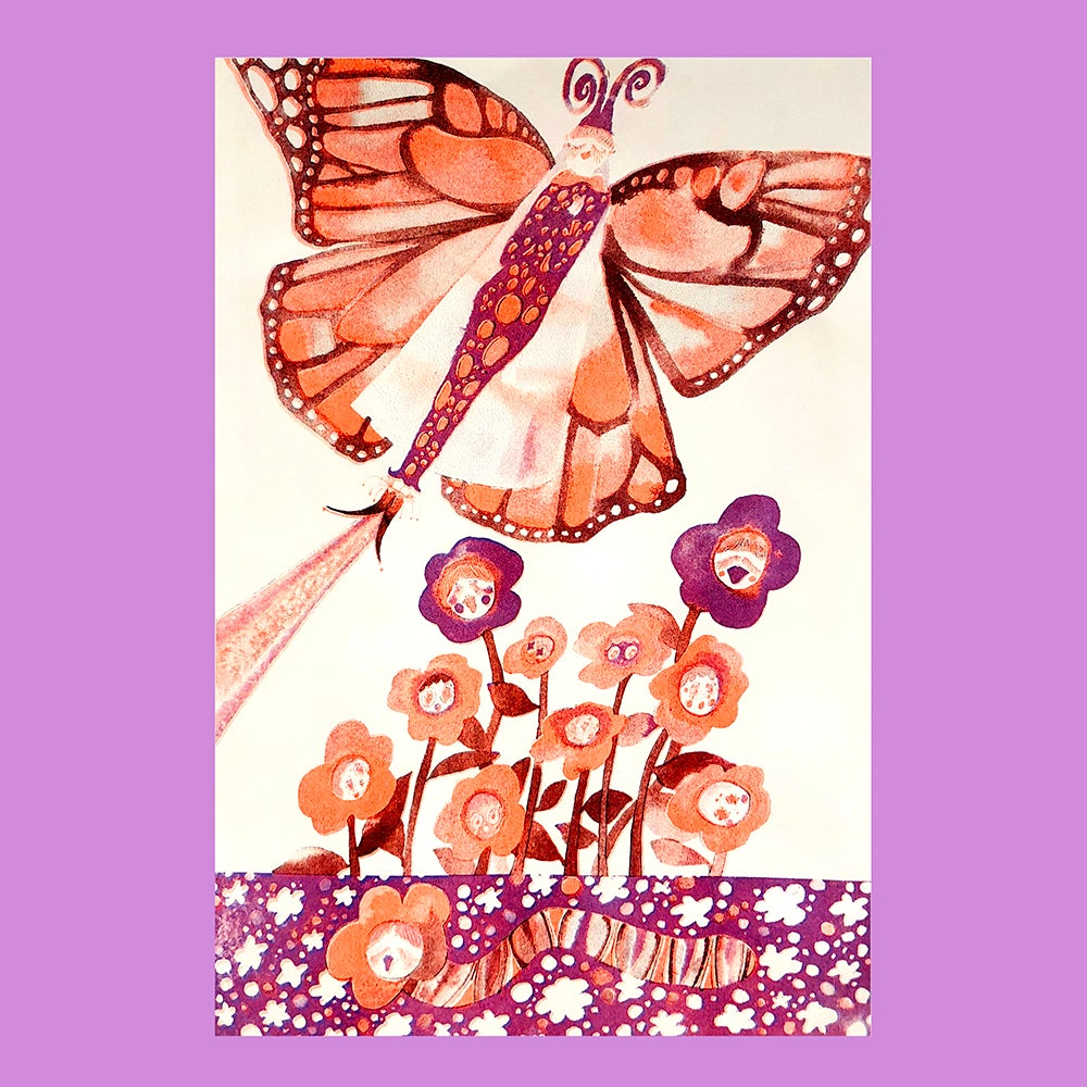 Image of Butterfly Print