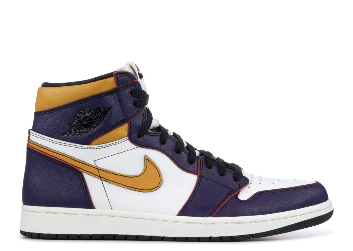 "Image of  AIR JORDAN 1 RETRO HIGH SB ""Lakers"""