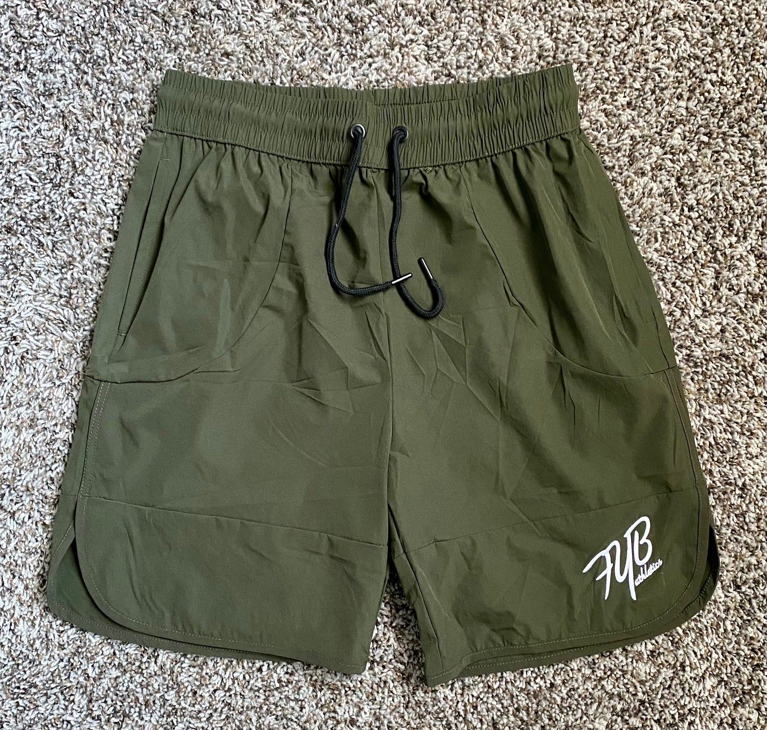 Image of WOD SHORTS - MILITARY GREEN