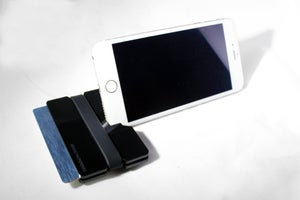 Image of Black Arcylic - FlexBand Wallet/Phone Stand/Card Holder
