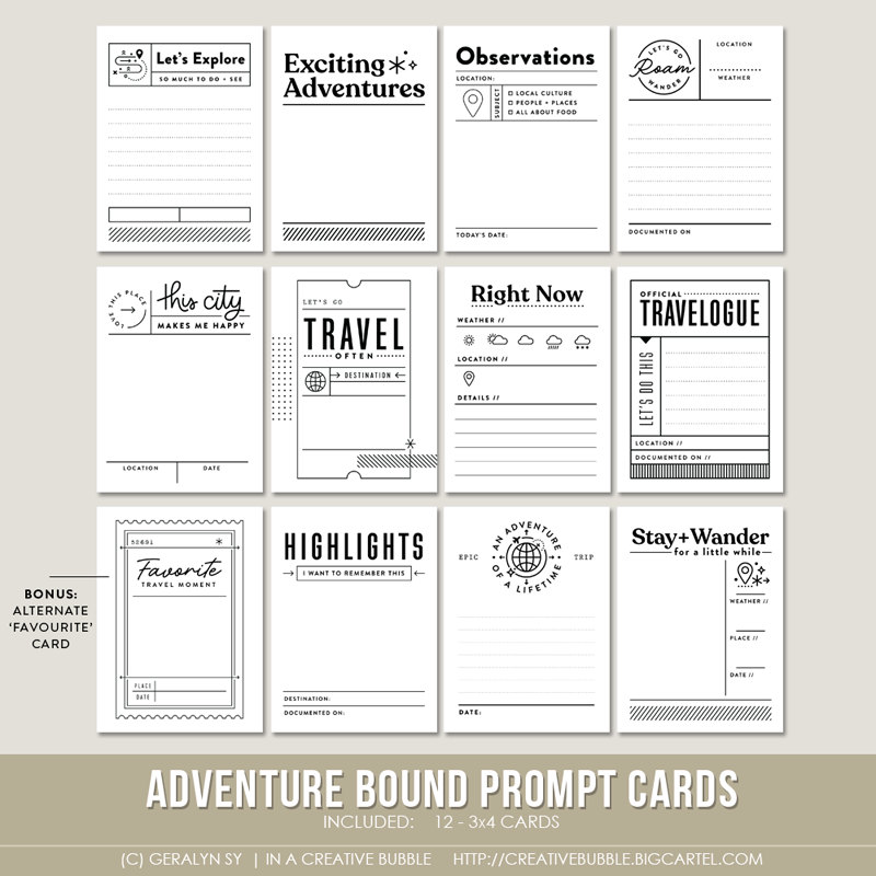 Image of Adventure Bound Prompt Cards (Digital)