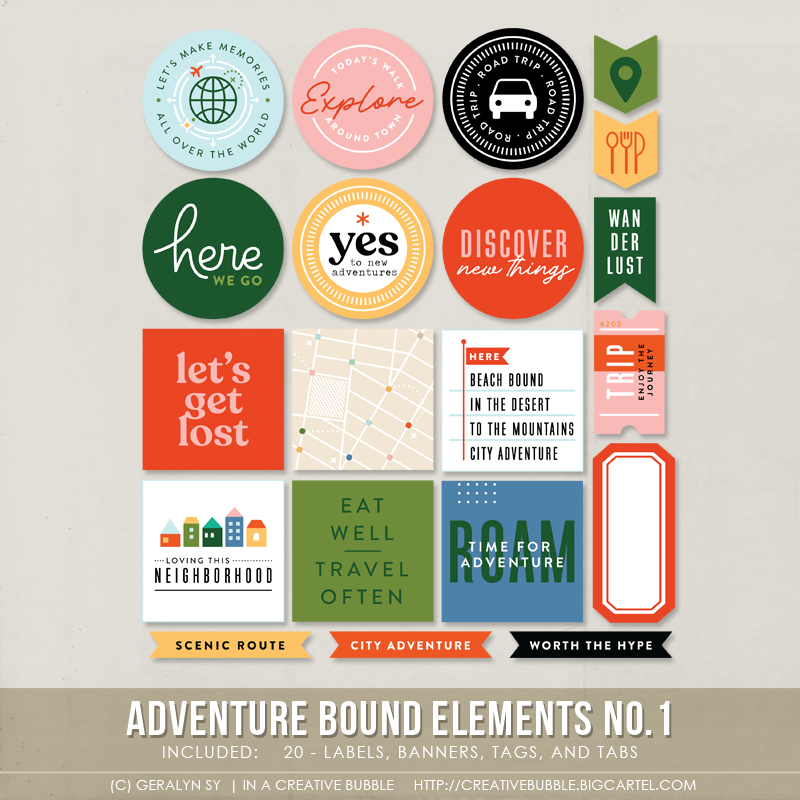 Image of Adventure Bound Elements No.1 (Digital)