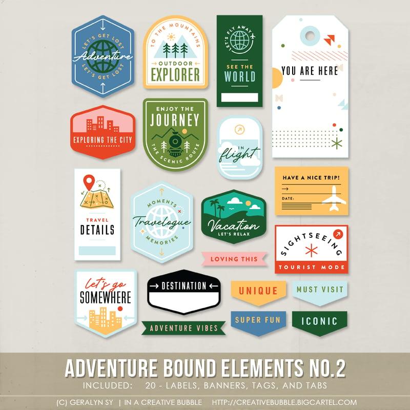 Image of Adventure Bound Elements No.2 (Digital)