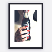 Image of 'Classic Cola' Framed Print. Limited Edition.