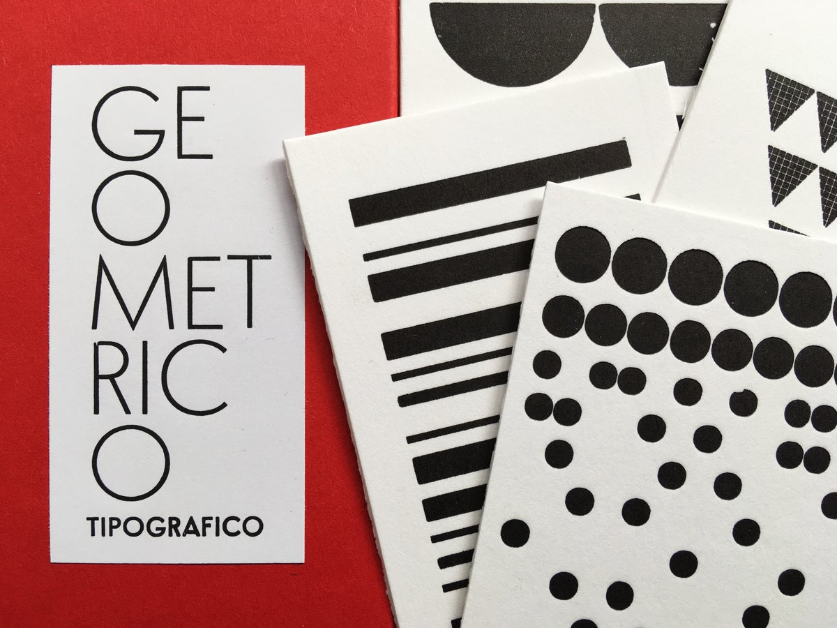 Image of GEOMETRICO TIPOGRAFICO