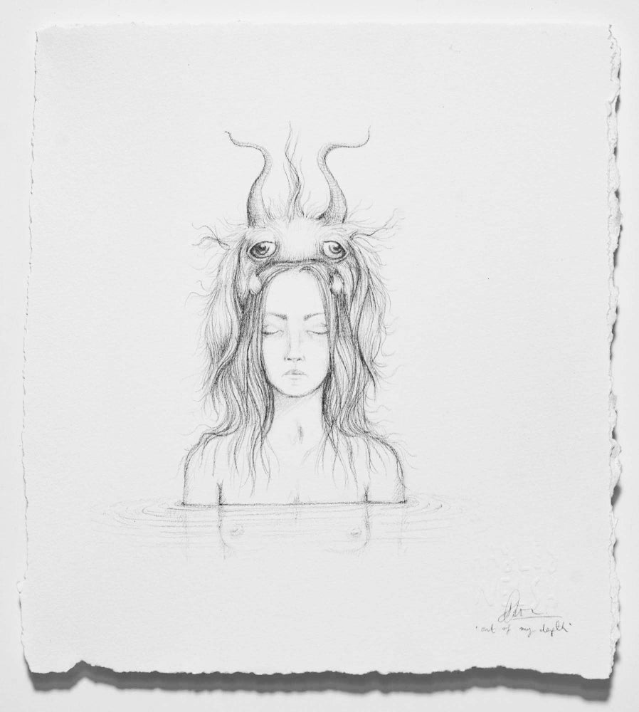 Image of 'Out of my depth'