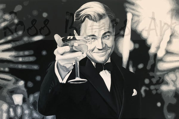 Image of GATSBY (3x2ft canvas print)