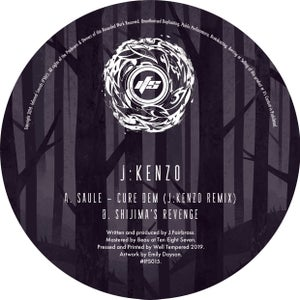 Image of IFS015: Saule - Cure Dem (J:Kenzo Remix) / Shijima's Revenge [FULL SLEEVE ARTWORK]
