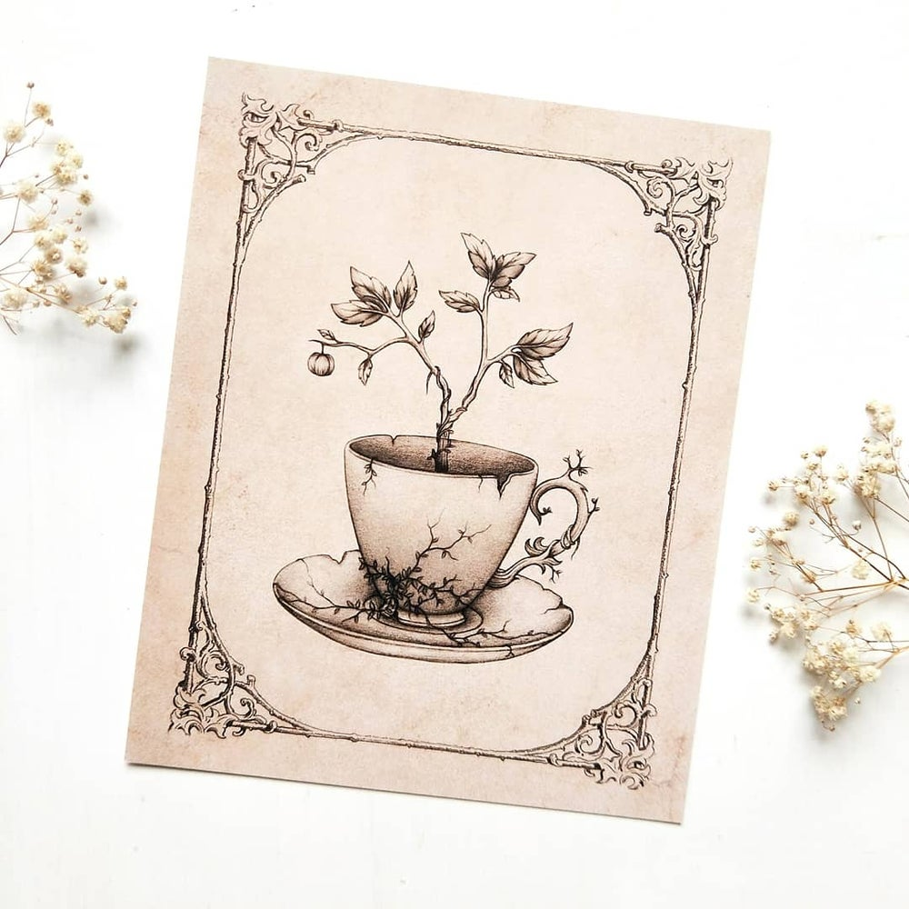 Image of Tea Time - ART PRINT