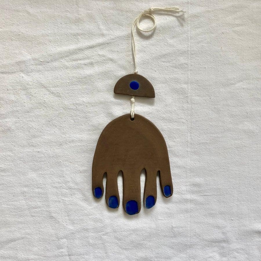 Image of hamsa hand :: wall hanging