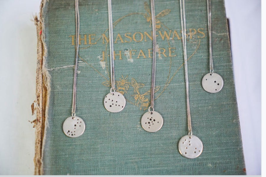 Image of Star sign constellation Necklace