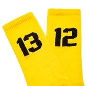 Image of SIXBLOX 1312 SOCKS YELLOW/BLACK