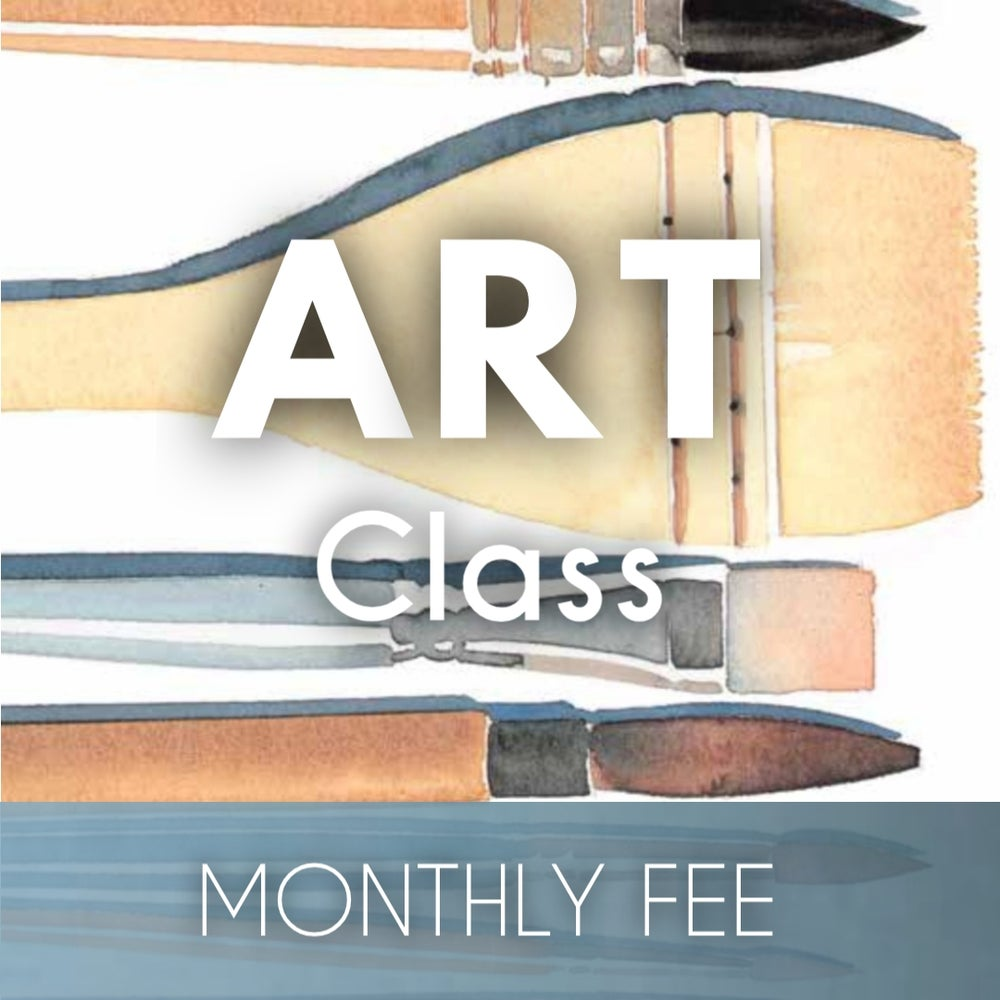 Image of Art Class Monthly Fee