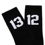 Image of SIXBLOX 1312 SOCKS BLACK/WHITE