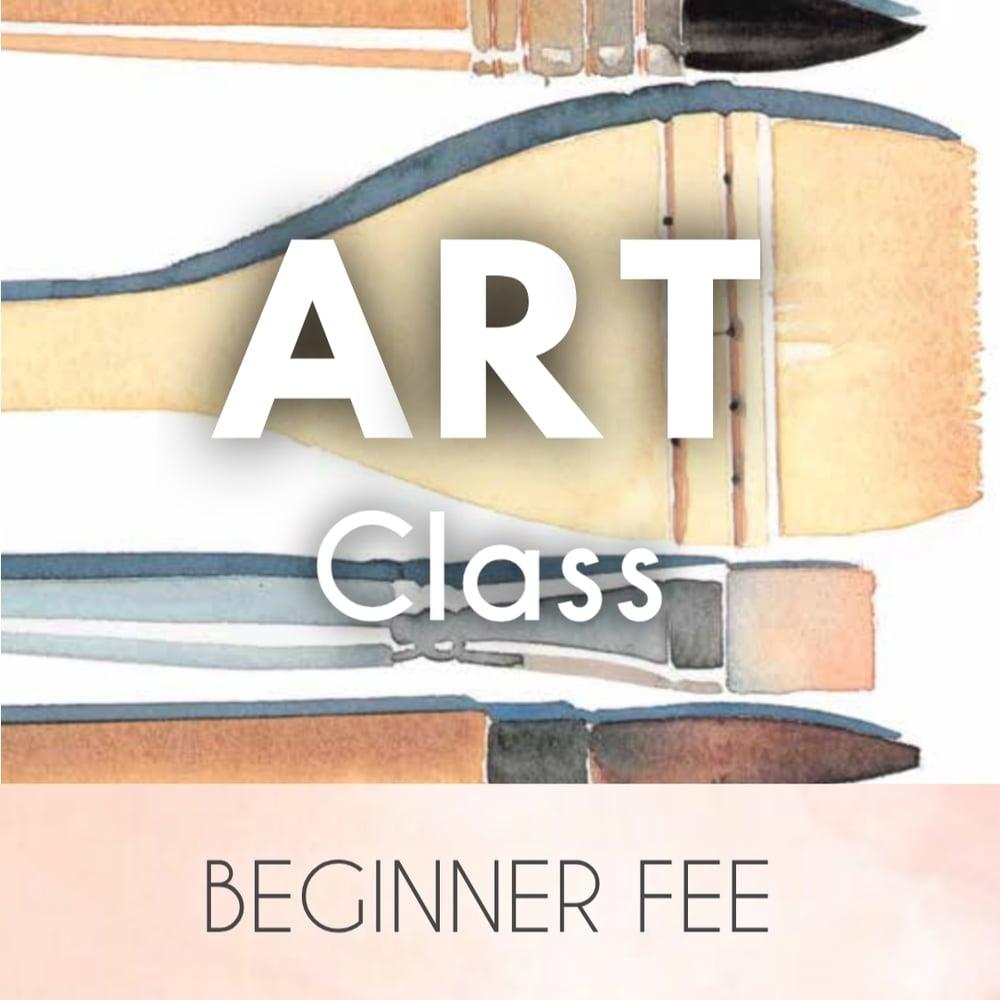Image of Art Class Beginner's Fee