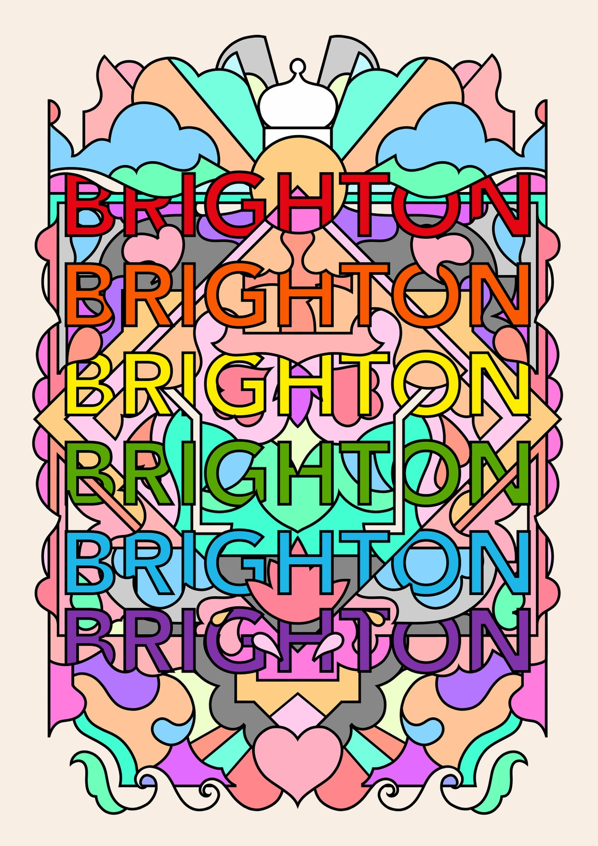 Image of Brighton Rock, 2019 - A3 print