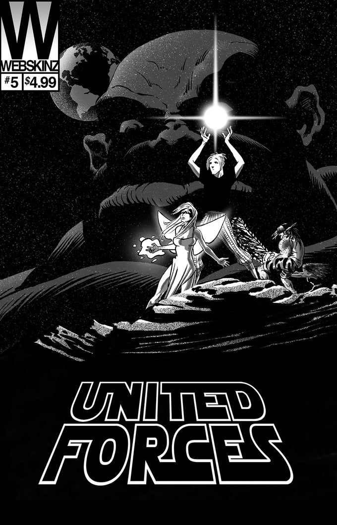 Image of United Forces comic issue #5 - [Limited Edition Variant Cover]