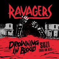 Image of Ravagers - Drowning In Blood 7 inch ( Exclusive  Canadian cover last copies !)