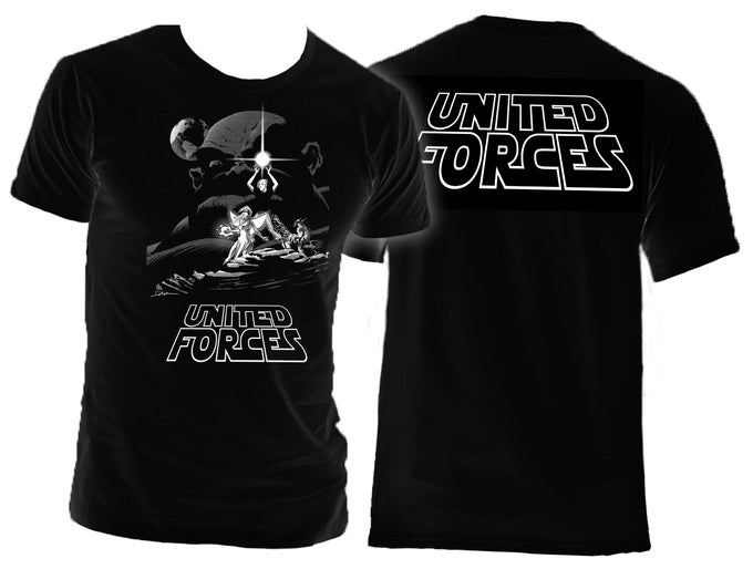 Image of United Forces T-Shirt - Star Wars Tribute