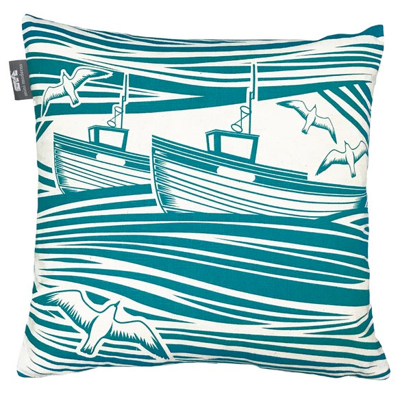 Image of Whitby Cushion - Lido Colour