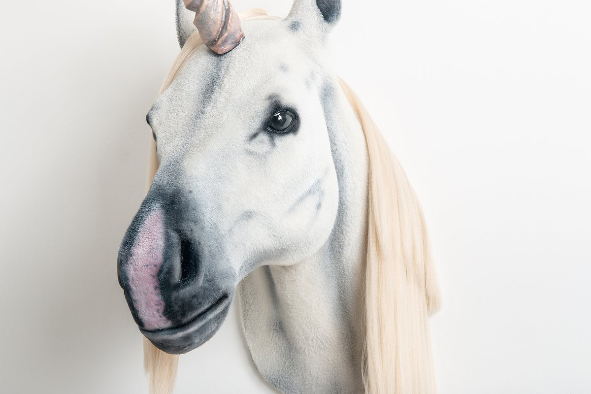 Image of Unicorn Sculpture