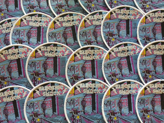 Image of ELECTRIC SHOCK - Woven Patch