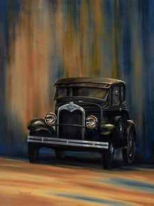 Image of Model A Metal Print