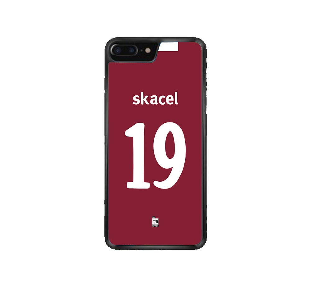 Image of Hearts 2011/12 Scottish Cup Final shirt phone case