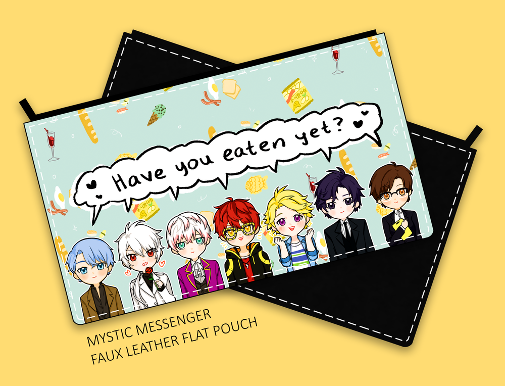 Image of Mystic Messenger Faux Leather Pouch