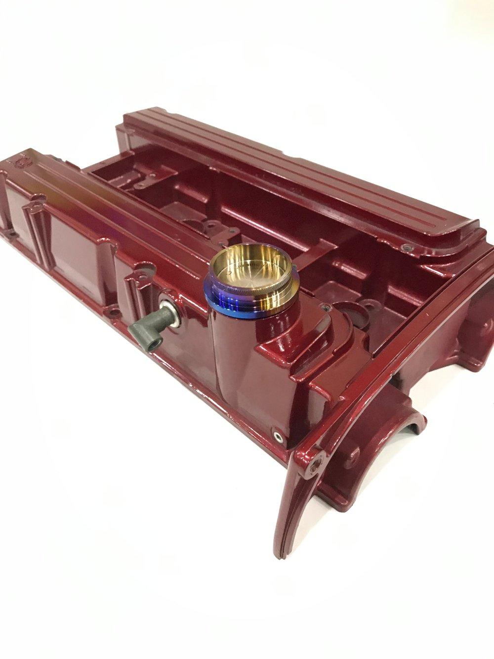 Mitsubishi Evo 4-9  4G63  Titanium Oil cap