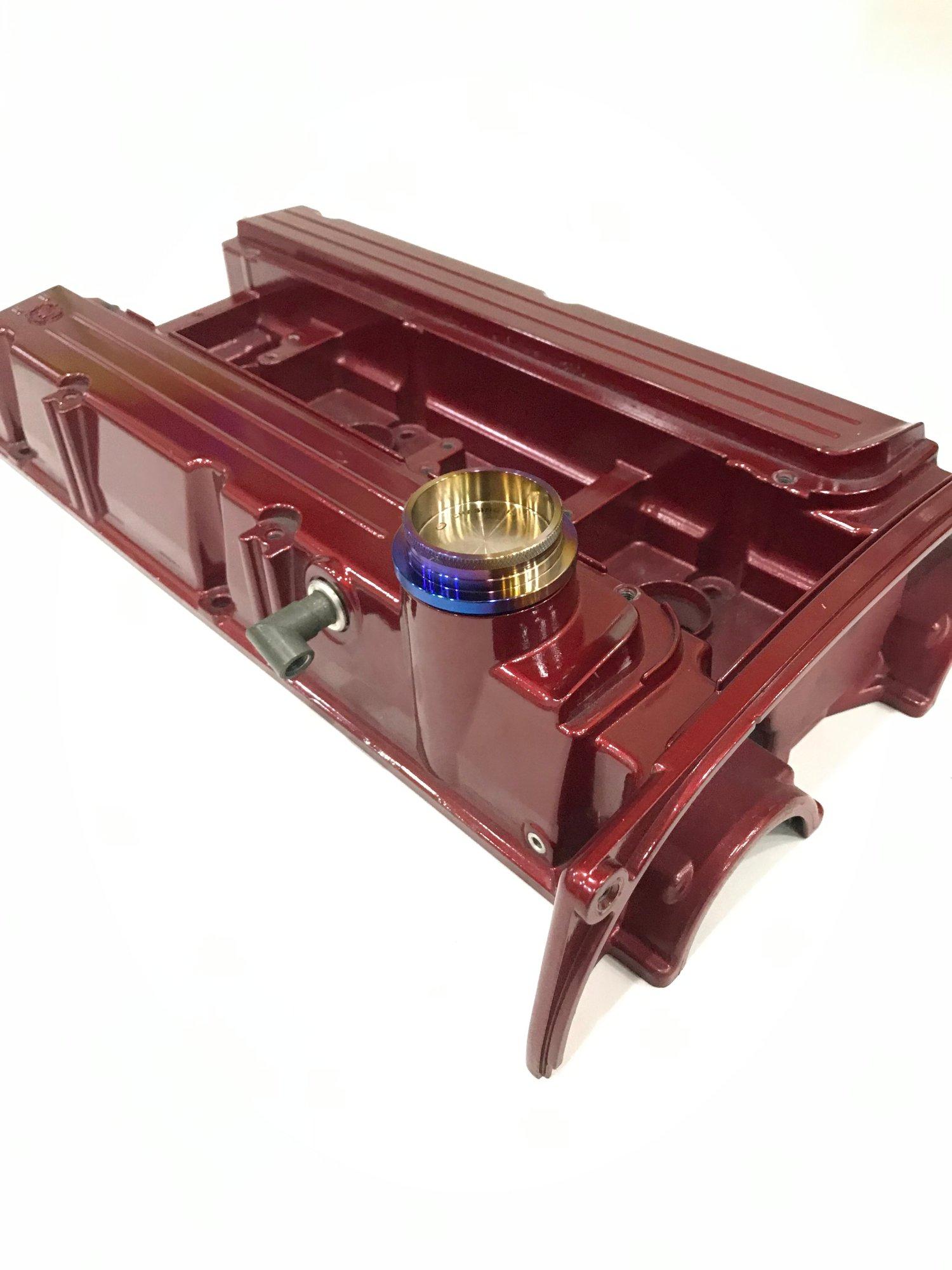 Image of Mitsubishi Evo 4-9  4G63  Titanium Oil cap