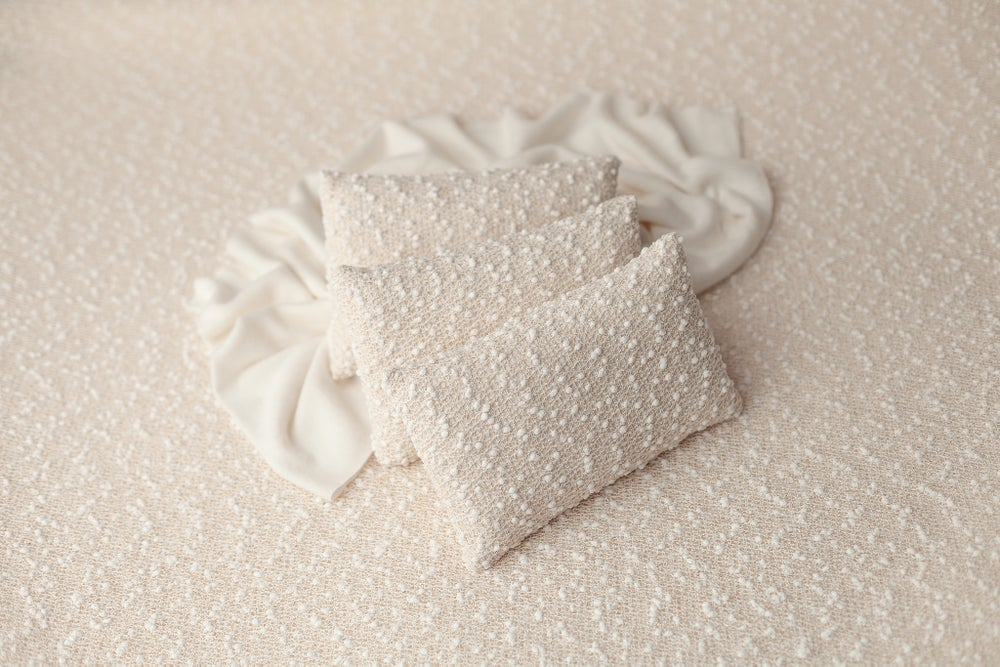 Image of Champagne Newborn Pillow