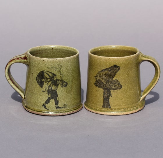 Image of The earth-dweller Mug. Second edition