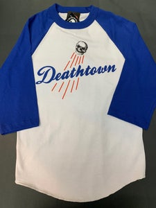 Image of Deathtown (Blue) - Jersey Shirt