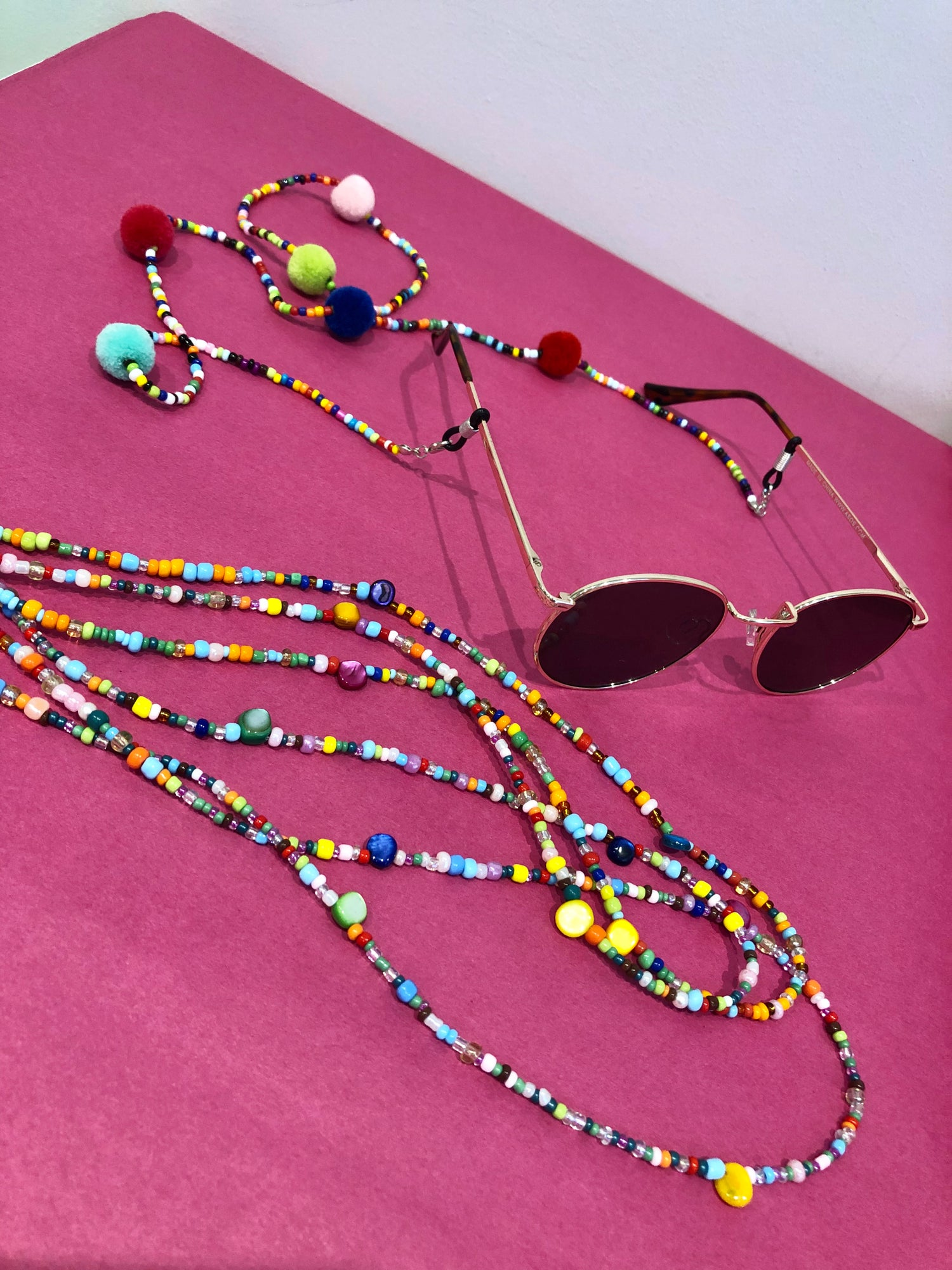 Image of Beaded Sunglasses Chain