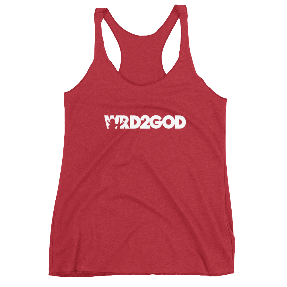 Image of WOMEN'S RACERBACK RED