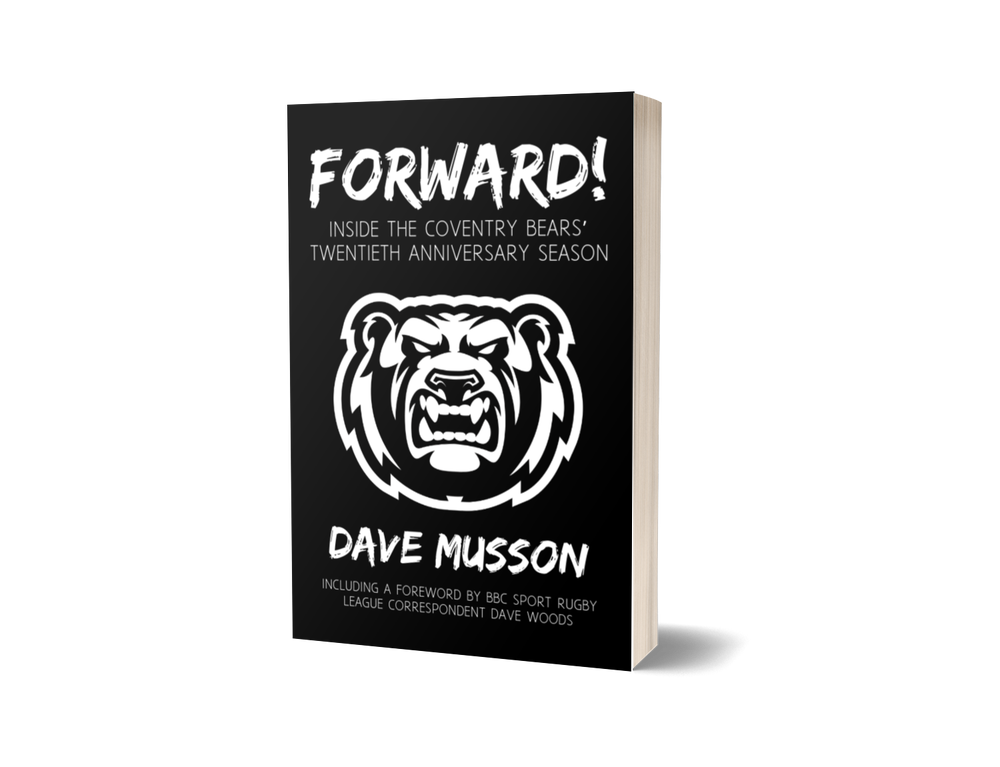 Image of BOOK: Forward! Inside the Coventry Bears' twentieth anniversary season