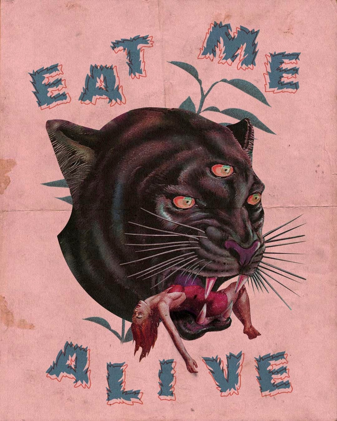 Image of Eat Me Alive Art Print