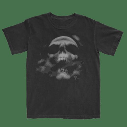 Image of SmokingSkull washed pigment short sleeve